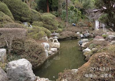 水を引き込んだ池♪お隣には、市の水道施設があります♪